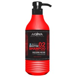 shampoo biotin full e thick agiva 500 ml