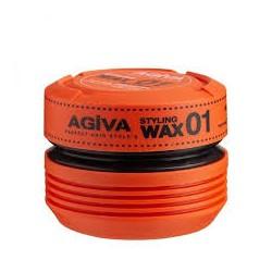 HAIR WAX STYLINGWAX01 WET LOOK 175ml - AGIVA