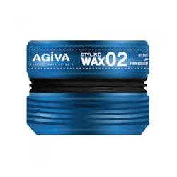 HAIR WAX STYLING WAX02 STRONG LOOK 175ml - AGIVA
