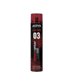 HAIR SPRAY SPRAY&SPRAY GUM HAIR 03 400ml - AGIVA