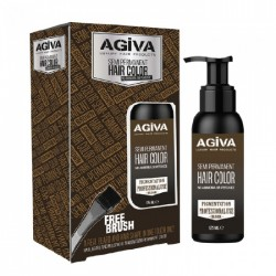 SEMI PERMANENT BEARD COLOR 125ml - AGIVA