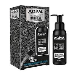 COLORAZIONE SEMIPERMANENTE PER BARBA 125ml BLACK - AGIVA