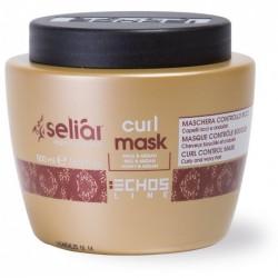 maschera controllo ricci per capelli ricci e ondulati curl mask 500 ml echosline