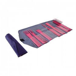 SET PROFESSIONALE PETTINI 7 PEZZI CON CUSTODIA