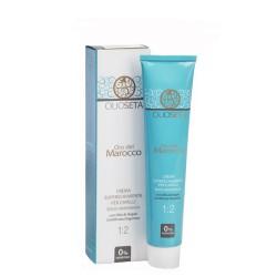 tinta/colore per capelli senza ammoniaca 1:1,5 con Olio di Argan certificato Organico 100 ml oro del marocco barex