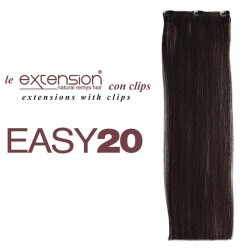 EXTENSION CAPELLI VERI CON CLIP EASY 20 SOCAP ORIGINAL
