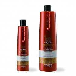 ARGAN SHAMPOO SHAMPOO NUTRIENTE ALL'OLIO DI ARGAN 350/1000 ml ECHOSLINE