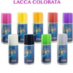lacca colorata per capelli